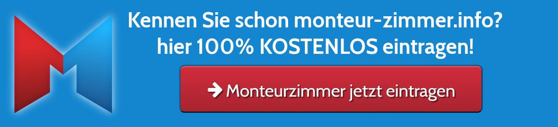 Monteur-Wohnung kostenlos eintragen